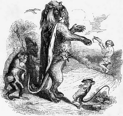 Le chemin de croix d 39 un jeune auteur edith soonckindt - Image le lion et le rat ...
