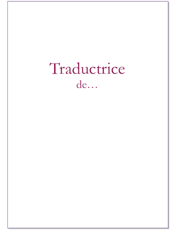 Traductrice